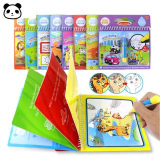 Magical Graffiti Colorful Water Drawing Paintings Book Reusable Writing Toy Gift For Toddler