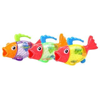 span-new Bathing toy sprinkler shower measure temperature discoloration fish kids toys craving