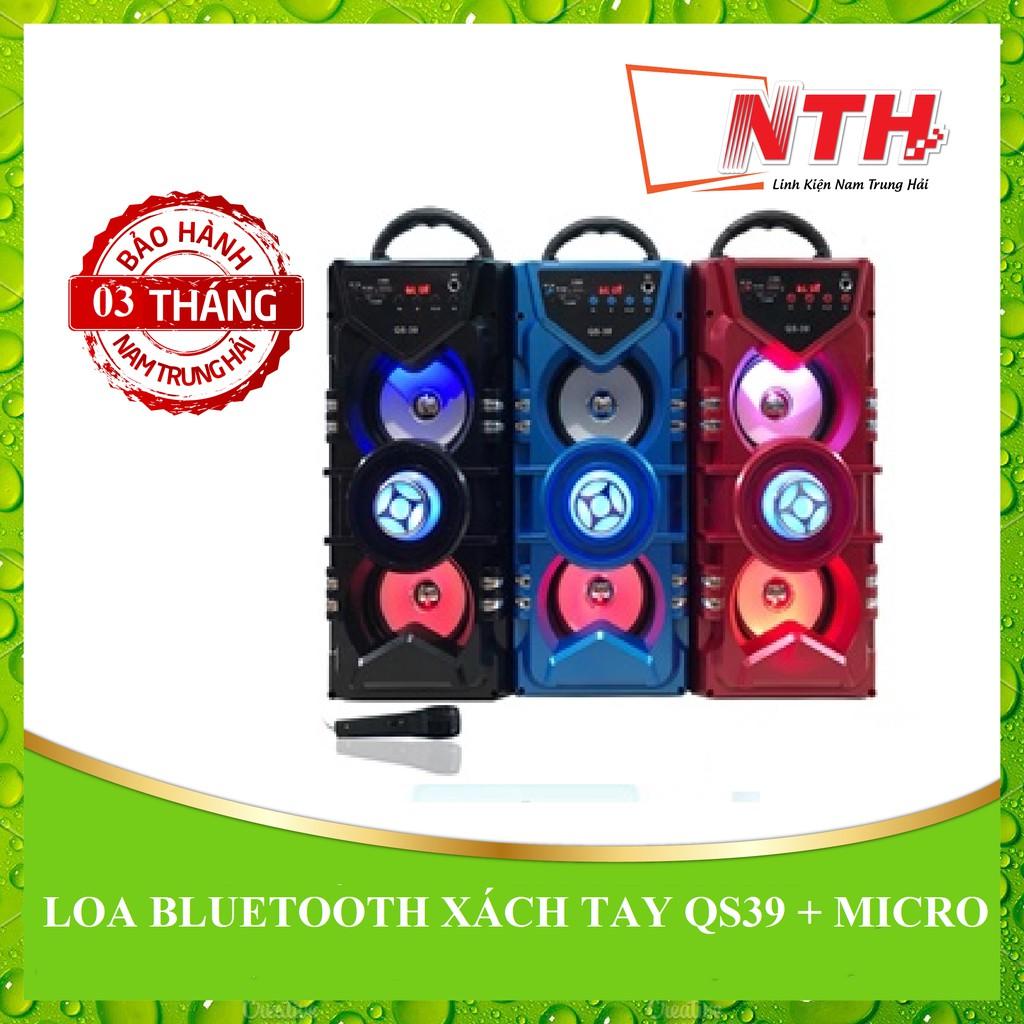[NTH] LOA BLUETOOTH XÁCH TAY QS39