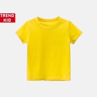 [Mã TREND20 giảm 15% đơn 99K] Áo phông cho bé trai bé gái màu vàng michley