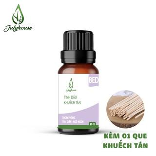 [MỚI] Bộ Khuếch tán hương thơm dành cho phòng Ngủ thư giãn khử mùi giúp ngủ ngon từ tinh dầu thiên nhiên 5ml JULYHOUSE