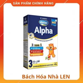 Sữa bột Dielac Alpha 3 hộp giấy 400g