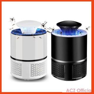 Đèn bắt muỗi hình trụ cao cấp cắm USB mẫu mới năm 2021