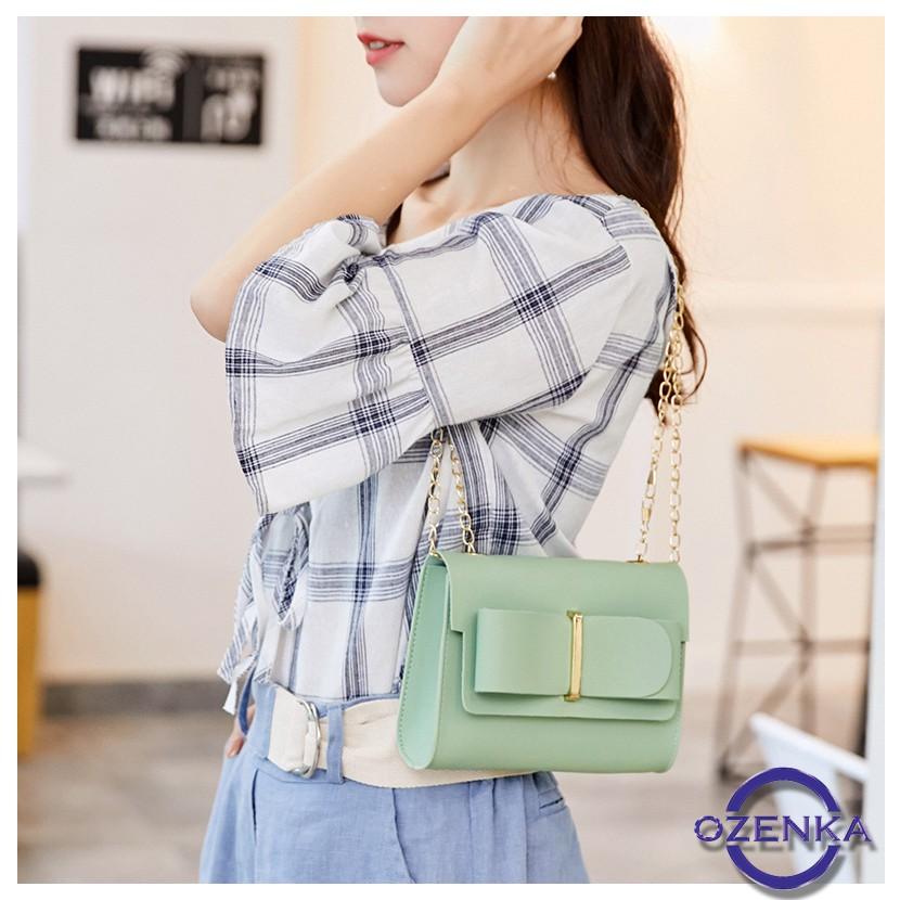 Túi xách nữ , túi đeo chéo mini phong cách Hàn Quốc mẫu mới 2020 nhiều màu XUTA 252