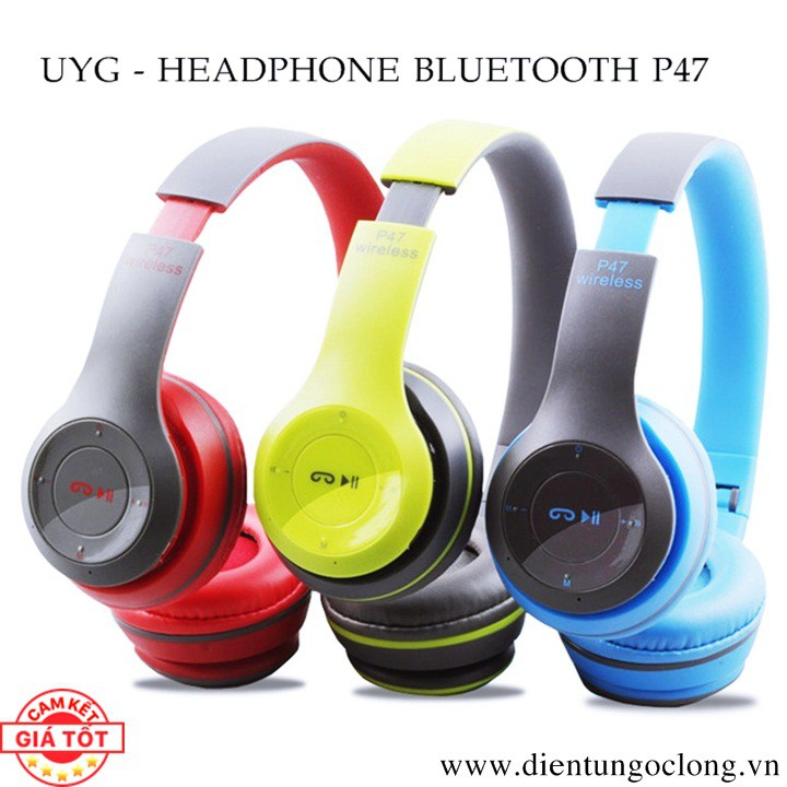 Tai Nghe Bluetooth Chụp Tai UYG Model ST3/P47