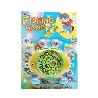 Bộ đồ chơi câu cá 15 lỗ phát nhạc dành cho bé