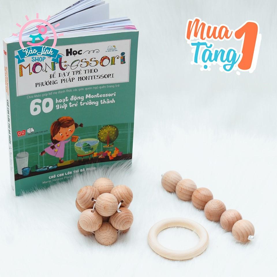 Combo Xúc Xắc Tập Cầm Nắm cho bé 3-6 Tháng – CHUẨN Montessori