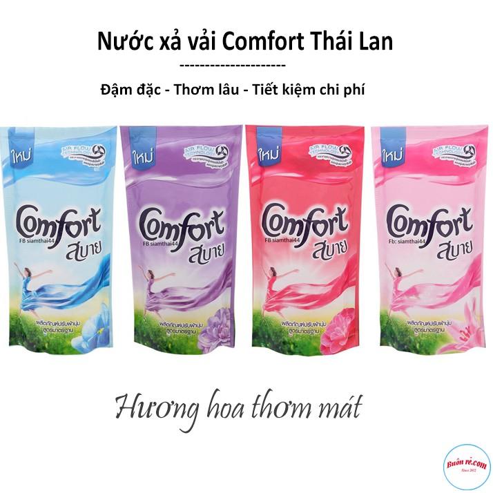 Nước Xả Vải Comfort Thái Lan Túi 580ml Siêu Mềm Thơm 00224