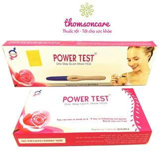 Power Test - Thử thai thế hệ mới, nhanh, chính xác, tiện dụng - Luôn che tên sản phẩm thumbnail