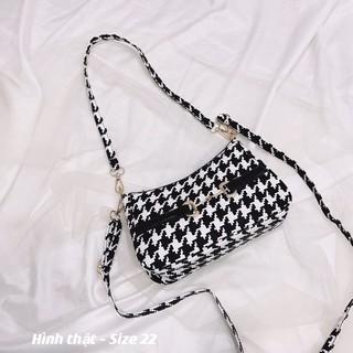Túi kẹp nách thô cẩm 2 dây thời trang , túi đeo chéo thổ cẩm giá rẻ HT1234