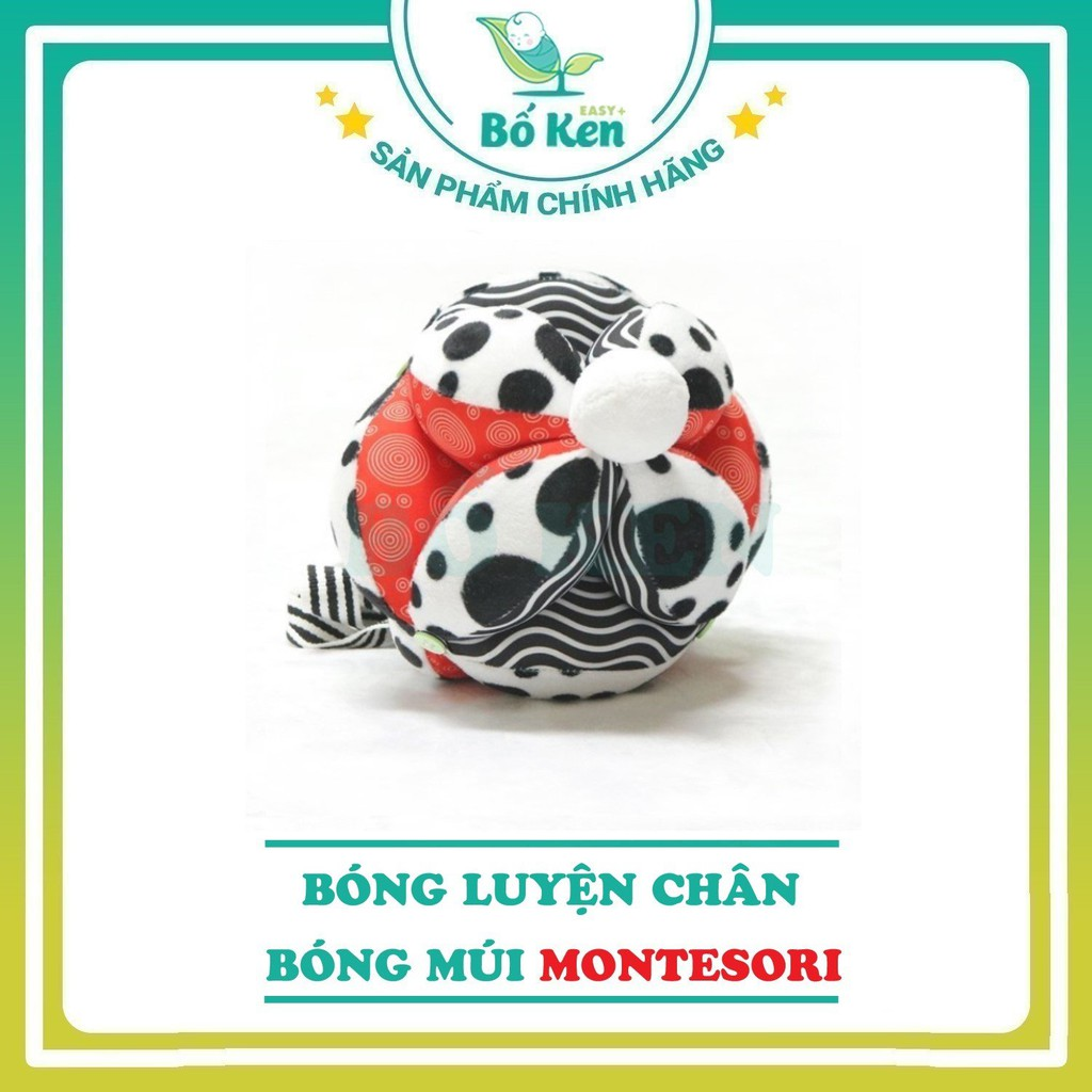 Shop Bố Ken Bóng Luyện Chân - Bóng Múi Montessori - Đồ Chơi An Toàn 0-6 tháng