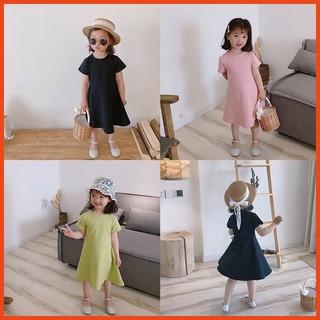 Váy Cho Bé Gái Dáng Xòe Mùa Hè- Hàng Quảng Châu Ambb Kids (Có clip, ảnh thật)