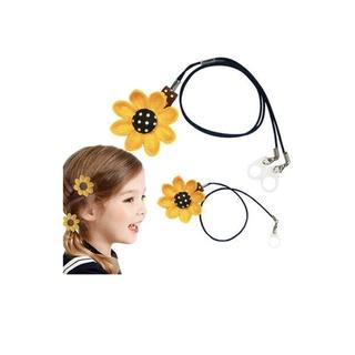 Dây đeo có đính hoa - bảo vệ máy trợ thính cho trẻ em dòng đeo sau tai (BTE) thumbnail