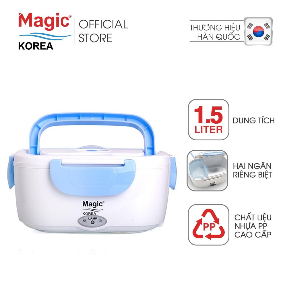 Hộp cơm điện hâm nóng Magic Korea A03 (Xanh)