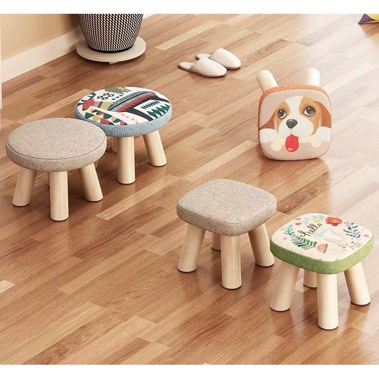 Ghế Gỗ nhỏ 4 chân - Ghế gỗ lùn