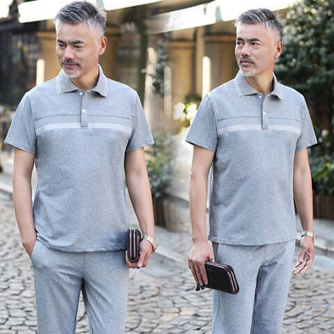 Các bố mặc những bộ này thì vừa khỏe khoắn , vừa phong cách.