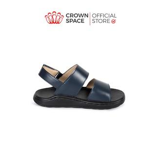 Dép Quai Hậu Cho Bé Trai Đi Học Crown UK Sandal Cruk646 Cho Bé Từ 4 đến 10 tuổi