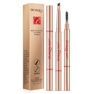 Multi-đầu nấm công cụ lông mày tạo dáng dễ dàng để màu trang điểm luân chuyển trang điểm lông mày bút chì
