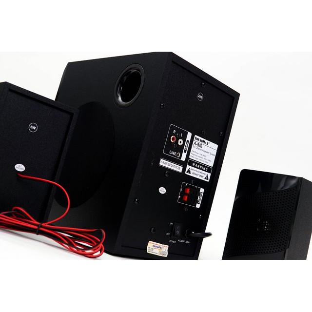 Loa vi tính 2.1 Soundmax A926 tích hợp USB Thẻ nhớ Bluetooth 5.0 - Triệu Gia phân phối