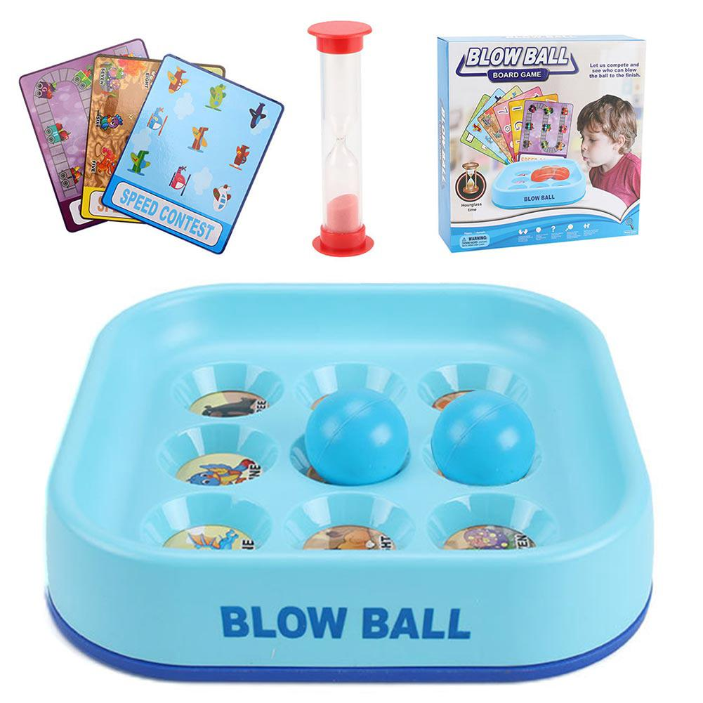 Unisex Plastic Battle Game Mini Gift Kids Toy Fashion Educational Blow Ball