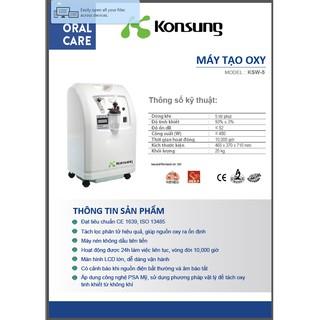 [SẴN HÀNG] Máy tạo oxy 5 lít Konsung KSW-5 thumbnail