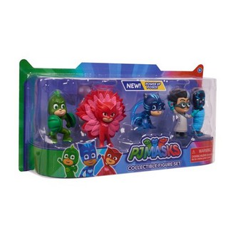 Đồ chơi PJ Masks Collectible Figure Set – 5 Pack