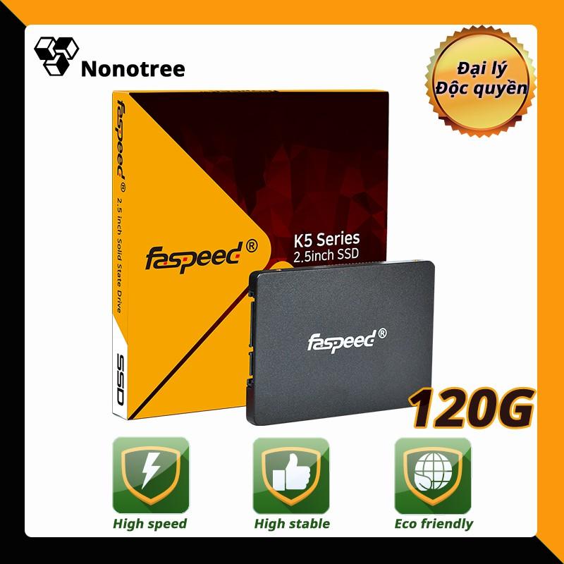 Ổ cứng SSD K5 120GB Faspeed SATA3 2.5inch 3 năm đổi mới Nonotree 90GB 128GB Tham khảo