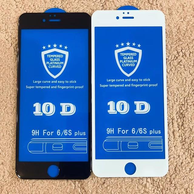 Kính Cường Lực 10D Full Màn Cho Iphone 6, Iphone 7, Iphone 8, Iphone X - Siêu Bền - Shop Sim giá rẻ