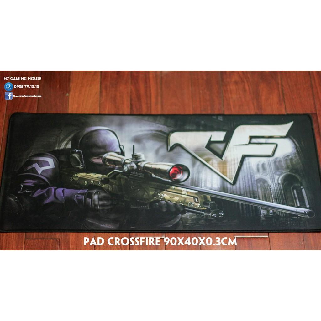 Lót chuột dài thanh lí: CF, Razer, One piece - 90x40x0.2cm