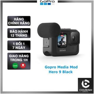 [Mã 229ELSALE hoàn 7% đơn 300K] Gopro Media Mod Hero 9 Black | Chính Hãng