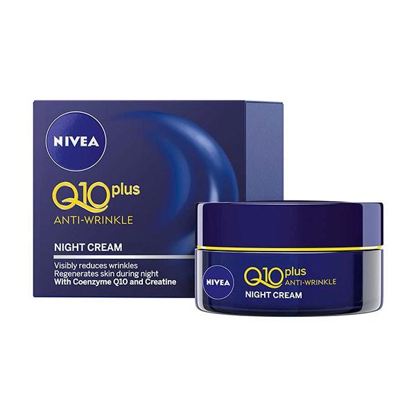 Kem đêm chống lão hóa NIVEA Q10 Plus Soin de Nuit 50ml