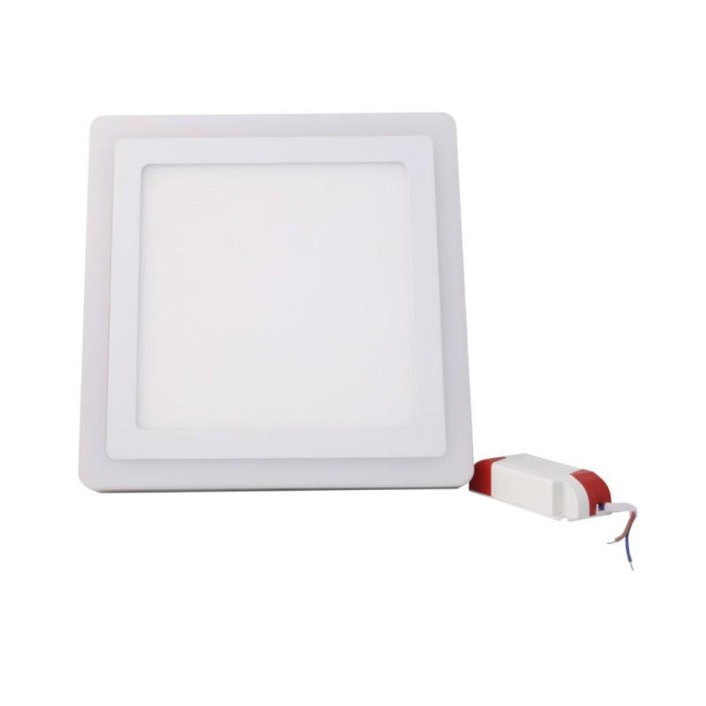Đèn LED ốp trần đổi màu Rạng Đông 24W - D LN24L ĐM 247x247/24W (Vuông)