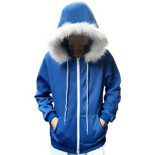 Áo hoodie coslay Sans màu xanh