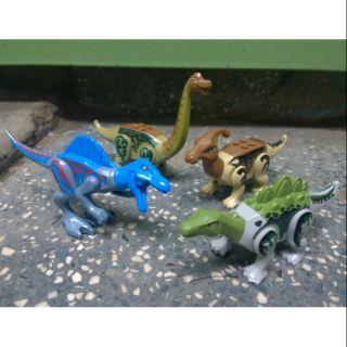 Lego khủng long mini jurassic world đồ chơi lắp ráp ghép hình thông minh phát triển trí tuệ công viên khủng long