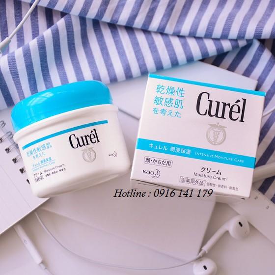 Kem dưỡng ẩm chuyên sâu Curel Intensive Moitsure Cream