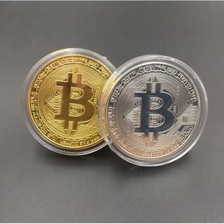 Đồng xu BITCOIN mạ Vàng 24k Cao cấp.