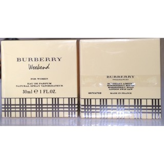 NƯỚC HOA BURBERRY WEEKEND for WOMEN 30ml