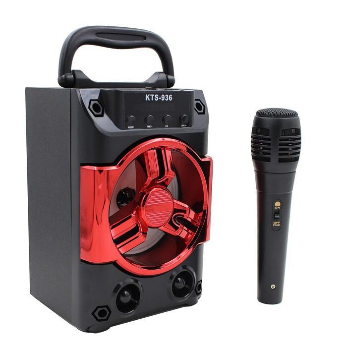 Loa karaoke blutooth Speaker Mini KTS936 [tặng micro] - 15328507 , 1431246690 , 322_1431246690 , 299000 , Loa-karaoke-blutooth-Speaker-Mini-KTS936-tang-micro-322_1431246690 , shopee.vn , Loa karaoke blutooth Speaker Mini KTS936 [tặng micro]
