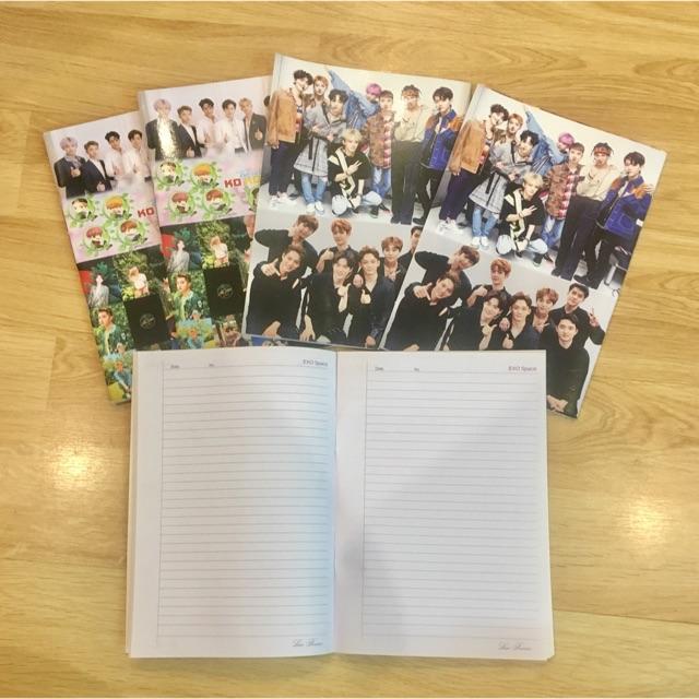 Vở EXO 2 quyển