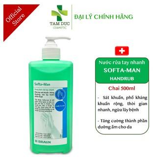 Dung Dịch Rửa Tay Nhanh SOFTA MAN - Nước rửa tay khô SOFTA-MAN không cần nước (SOFTAMAN - BBRAUN LIFEBUOY GREEN CROSS) thumbnail