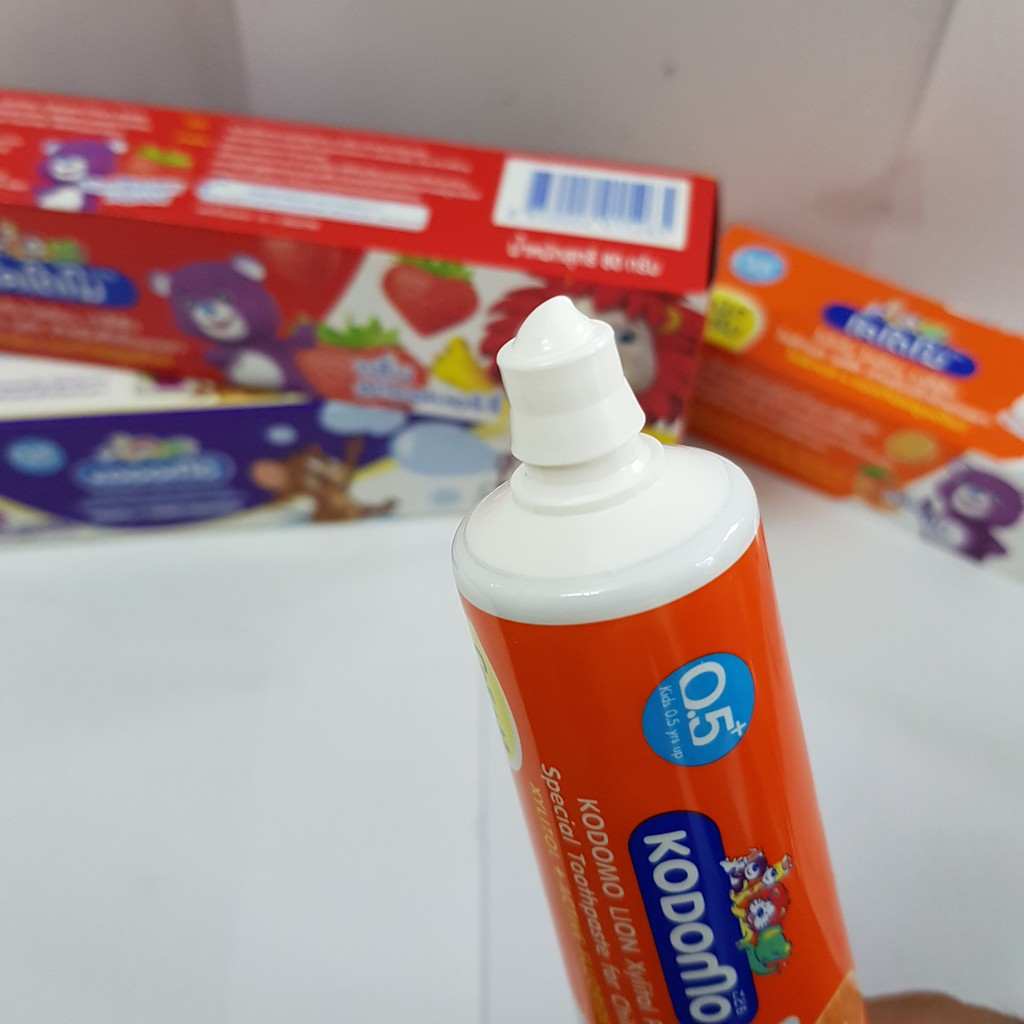 Kem Đánh Răng Trẻ Em Kodomo 65g Thái Lan