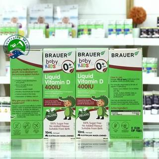 Vitamin D Brauer 400IU 10ml