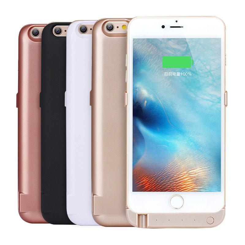 Pin sạc dự phòng 10.000mAh kiêm ốp lưng thời trang cho iPhone 6 plus hàng loại 1 pin thực dung lượng