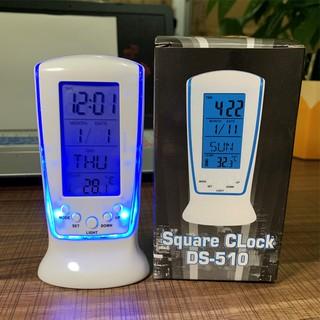 Nhiệt kế điện tử, Đồng hồ báo thức tích hợp lịch và đèn LED - MSP 510