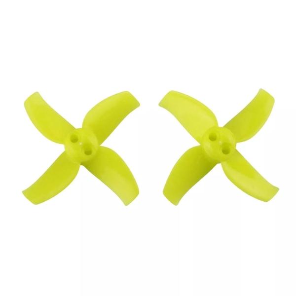 10 Pairs KINGKONG/LDARC 1540 40mm 4-blade Propeller 1.5mm Hub for TINY GT7 Beta75X RC Drone