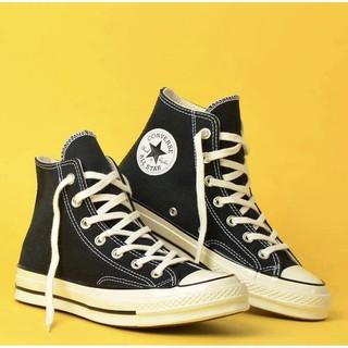 ( Hàng Real ) Giày Conversse Chuck70s Black Egret Cao Cổ thumbnail