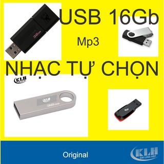 USB 16Gb Đầy nhạc tự chọn bài chuyên dụng cho xe ô tô, loa đài. Hàng chính hãng
