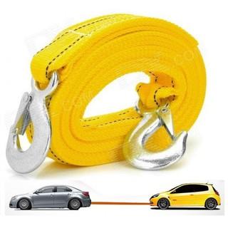HÀNG CHÍNH HÃNG Dây cáp dù chuyên dụng cứu hộ xe hơi ô tô tải trọng đến 5 tấn dài 4 mét có túi đựng đi kèm thumbnail