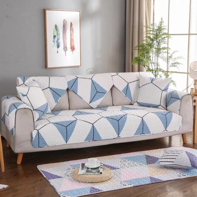 Bọc sofa cotton bốn mùa size 70*70cm