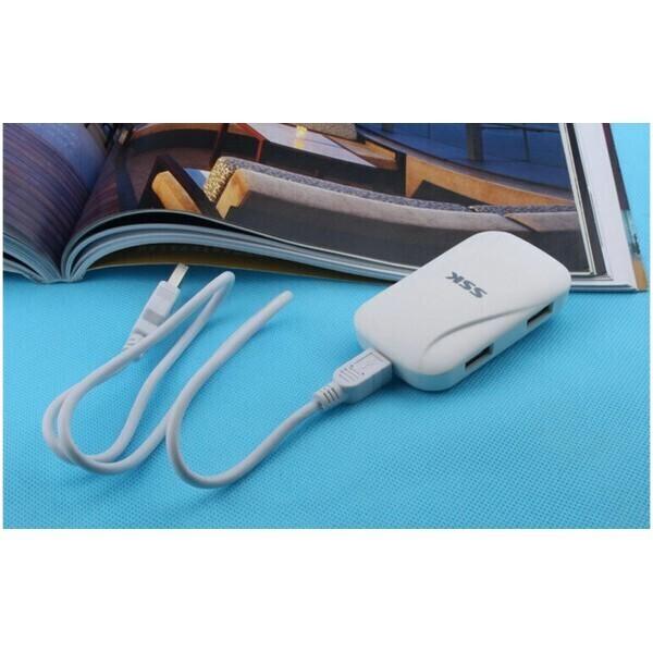 [Giá Sốc] SẢN PHẨM BỘ CHIA USB 4 CỔNG SSK SHU 037